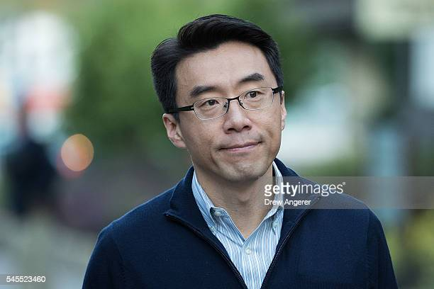 David Eun president of Samsung Electronics Global Innovation Center attends the annual Allen Company Sun Valley Conference July 8 2016 in Sun Valley...