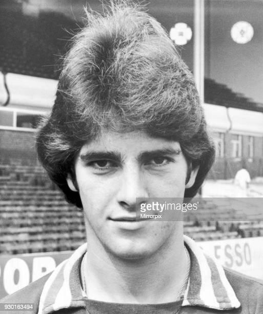 David Evans Aston Villa Football Player Photocall at Villa Park 19th August 1976