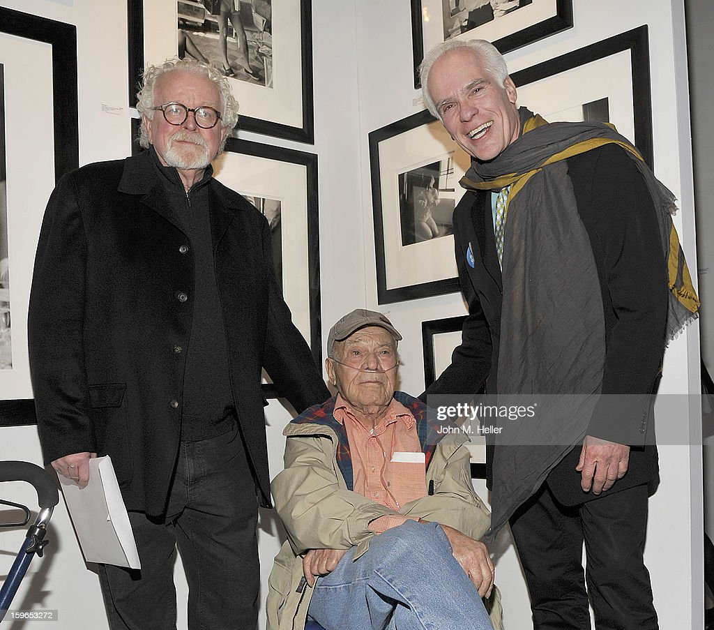 David Fahey, photographer Phil Stern and Gil Garcetti attend the Opening Reception For Photo