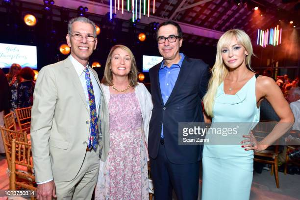 David Feinberg Andrea Feinberg United States Secretary of the Treasury Steven Mnuchin and Louise Linton attend the 14th Annual Prostate Cancer...