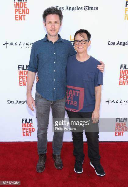 David Fenster and Asher Hartman attend the Opuntia Redmond Hand and Private Dick Premieres during 2017 Los Angeles Film Festival at Arclight Cinemas...