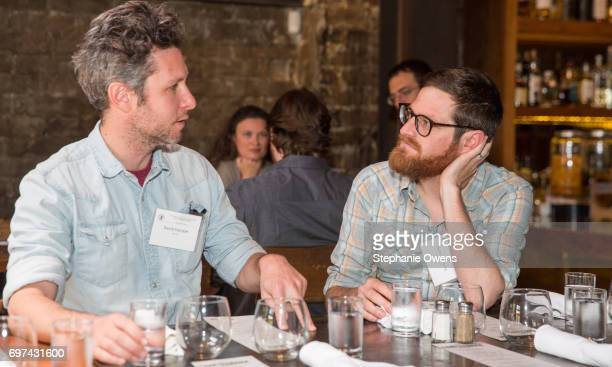 David Fenster and Jason Sussberg attend the DGA Reception during 2017 Los Angeles Film Festival at City Tavern on June 16 2017 in Culver City...