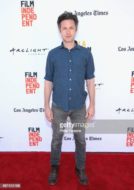David Fenster attends the Opuntia Redmond Hand and Private Dick Premieres during 2017 Los Angeles Film Festival at Arclight Cinemas Culver City on...