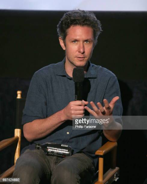 David Fenster speaks onstage at the Opuntia Redmond Hand and Private Dick Premieres during 2017 Los Angeles Film Festival at Arclight Cinemas Culver...
