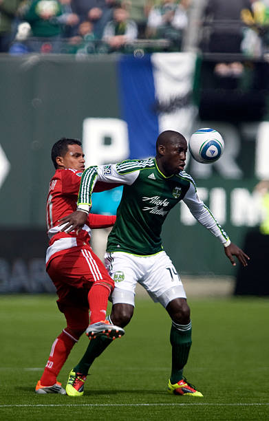 fotos und bilder von fc dallas v portland timbers getty images. Black Bedroom Furniture Sets. Home Design Ideas