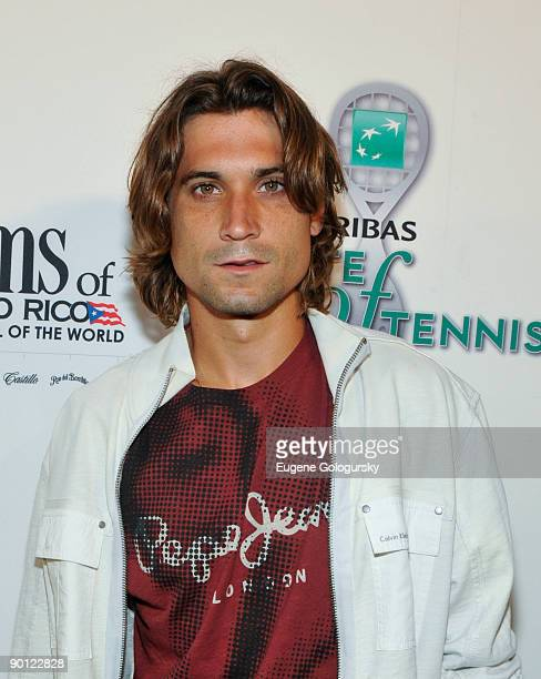 David Ferrer attends the 10th Annual BNP Paribas Taste of Tennis at the W Hotel on August 27 2009 in New York City