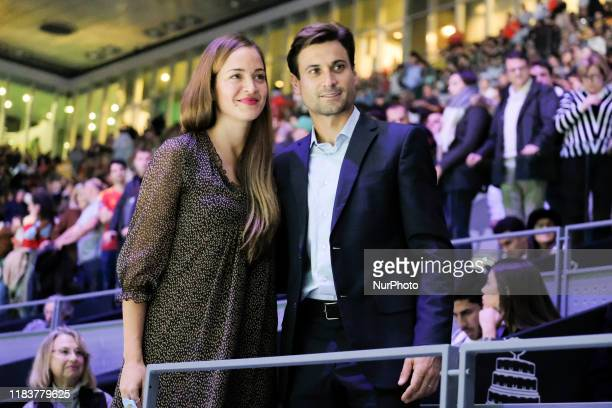 David Ferrer during Day Three of the 2019 David Cup at La Caja Magica on November 20, 2019 in Madrid, Spain.
