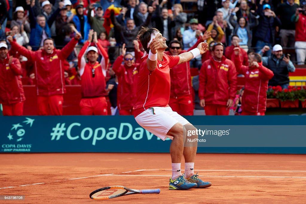 Spain v Germany - Davis Cup 2018 - Day 3 : News Photo