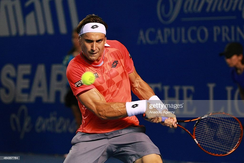 Mexican Tennis Open 2015 - Day 2 : News Photo