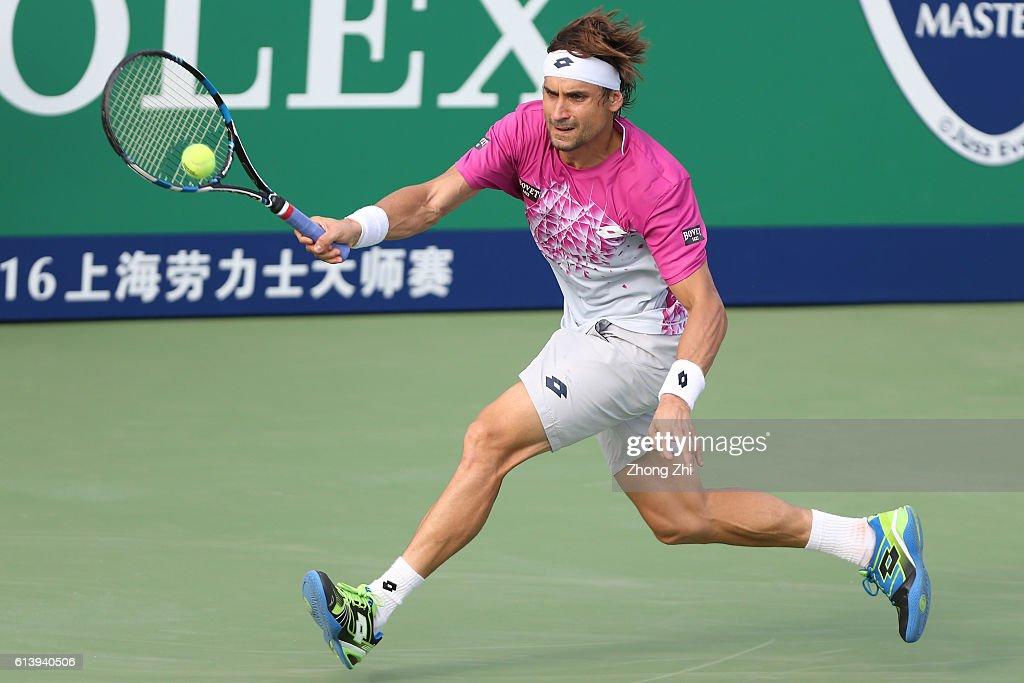 ATP Shanghai Rolex Masters 2016 - Day 3 : News Photo