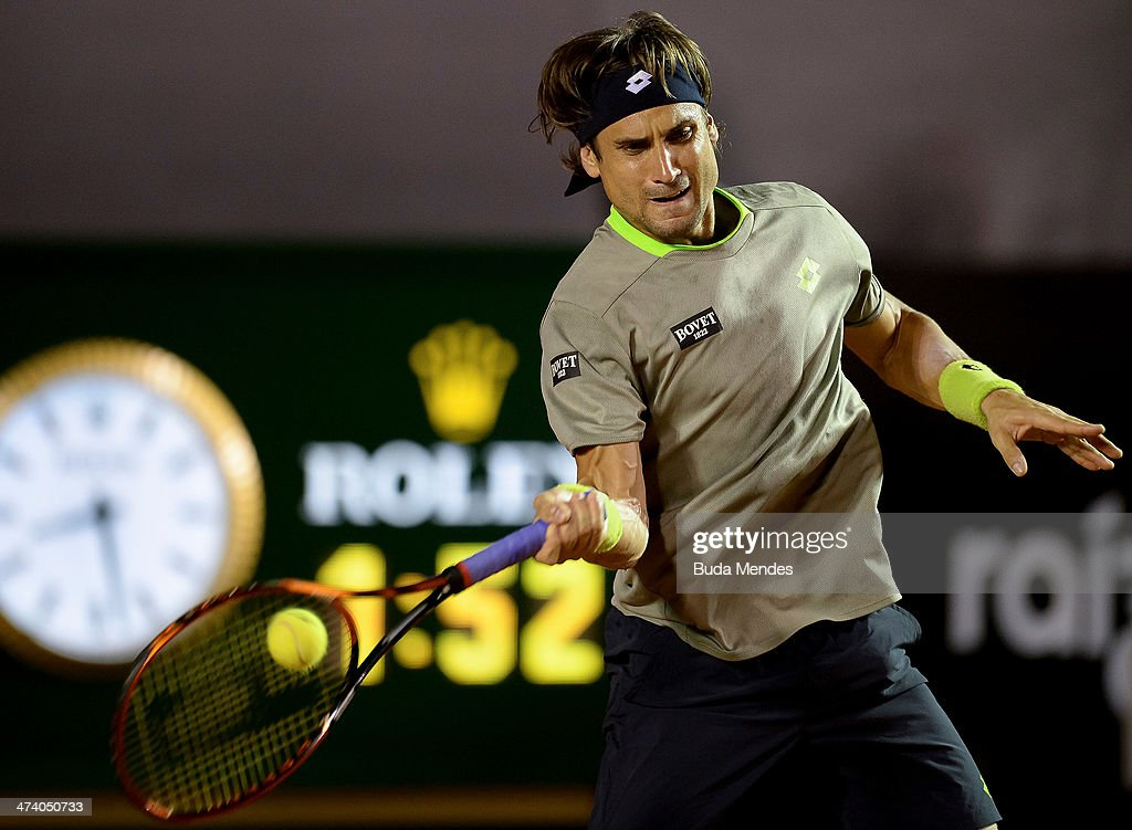 ATP Rio Open 2014 - Quarter Finals : News Photo