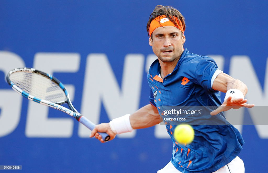 Nicolas Almagro and David Ferrer - ATP Argentina Open : News Photo