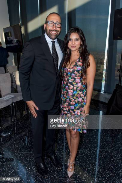 David Fizdale and wife Natasha Sen attend the Beyond Sport Global Awards on July 26 2017 in New York City