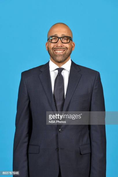 David Fizdale of the Memphis Grizzlies poses for a head shot during Memphis Grizzlies Media Day on September 25 2017 at FedExForum in Memphis...