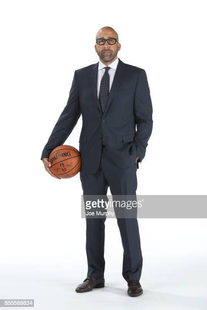 David Fizdale of the Memphis Grizzlies poses for a portrait during Memphis Grizzlies Media Day on September 25 2017 at FedExForum in Memphis...