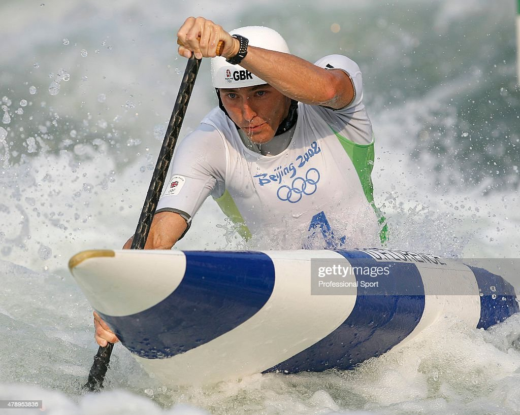 David Florence Of Great Britain In Action During The Canoe Single C1 Mens Final