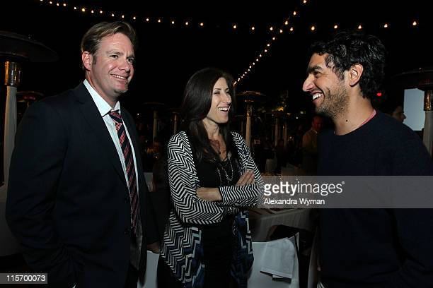 """David Flynn and Rena Ronson of UTA and director Zal Batmanglij attend the 2011 """"Celebrate Sundance Institute"""" Los Angeles Benefit at Franklin Canyon..."""
