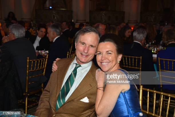 David Ford and Allison Rockefeller attend National Audubon Society Gala 2019 at The Plaza Hotel on February 7 2019 in New York City