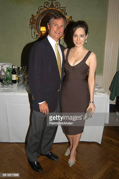 David Ford and Pamela Fielder attend American Associates of the Royal Academy Trust Cocktail Reception at Private Location on October 5 2005 in New...