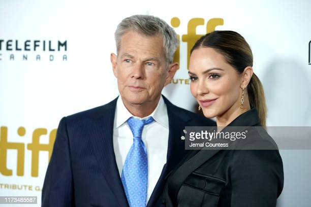 David Foster and Katherine McPhee attend the 2019 Toronto International Film Festival TIFF Tribute Gala at The Fairmont Royal York Hotel on September...