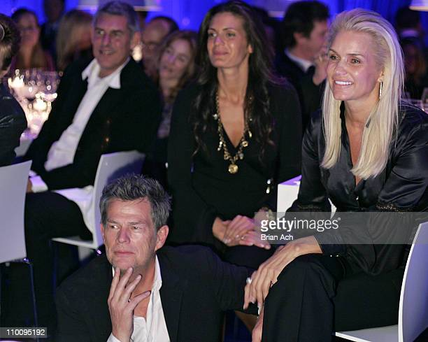 David Foster and Yolanda at the Andrea Bocelli and David Foster Celebrate a Special Evening event at The Bon Appetit Supper Club on November 1 2007...
