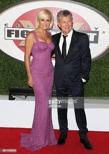 David Foster and Yolanda Foster attend the Muhammad Ali's Celebrity Fight Night XX at JW Marriott Desert Ridge Resort & Spa on April 12, 2014 in...