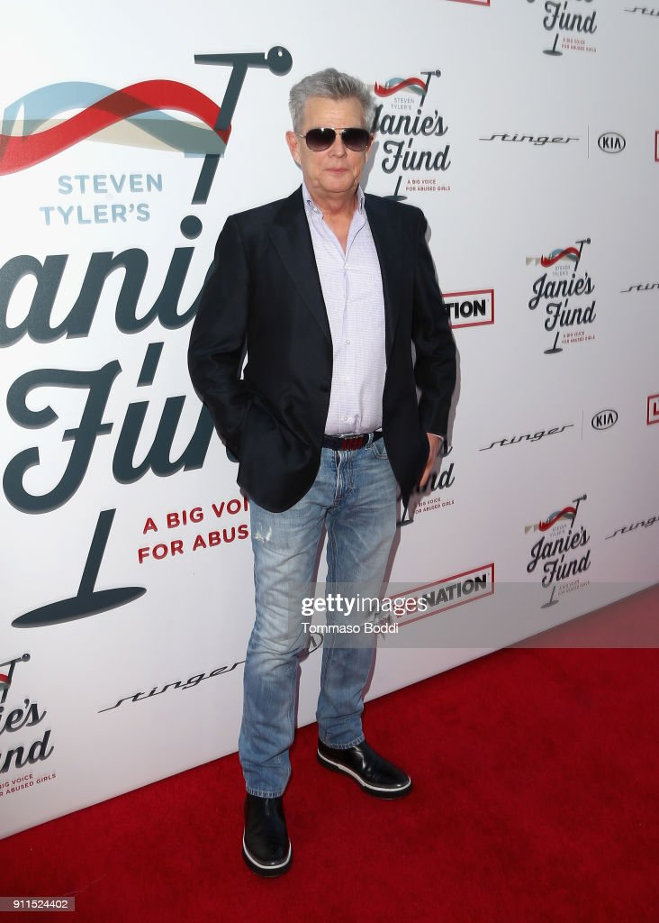 David Foster at Steven Tyler and Live Nation presents Inaugural Janie's Fund Gala & GRAMMY Viewing Party at Red Studios on January 28, 2018 in Los Angeles, California.