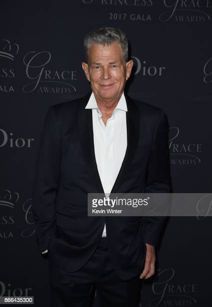 David Foster attends 2017 Princess Grace Awards Gala at The Beverly Hilton Hotel on October 25 2017 in Beverly Hills California
