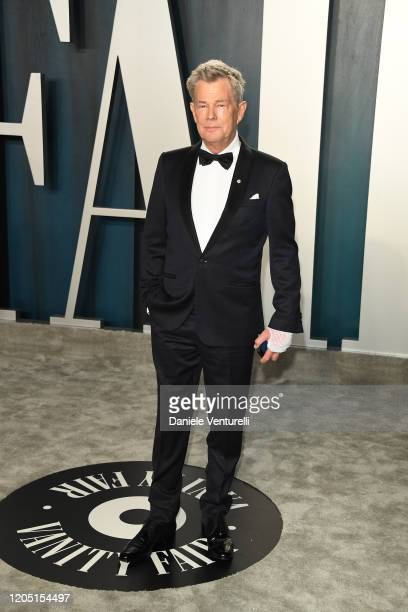 David Foster attends 2020 Vanity Fair Oscar Party Hosted By Radhika Jones at Wallis Annenberg Center for the Performing Arts on February 09, 2020 in...