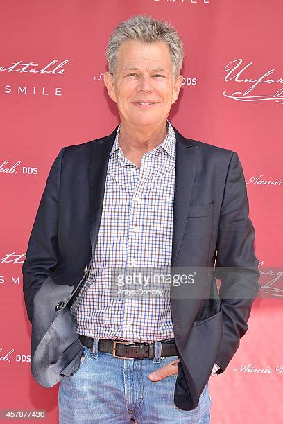 David Foster attends a ribbon cutting ceremony at Unforgettable Smile on October 22 2014 in Beverly Hills California