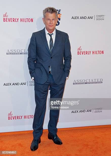 David Foster attends the 23rd annual Race to Erase MS Gala at The Beverly Hilton Hotel on April 15 2016 in Beverly Hills California