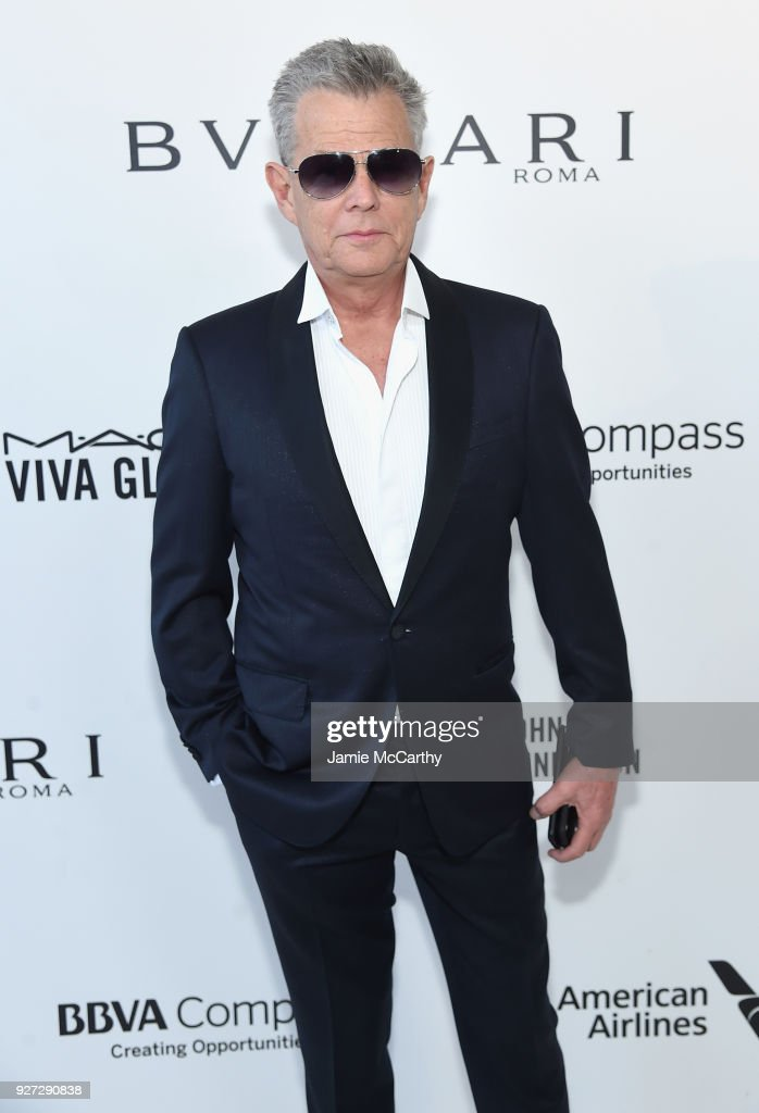 David Foster attends the 26th annual Elton John AIDS Foundation Academy Awards Viewing Party sponsored by Bulgari, celebrating EJAF and the 90th Academy Awards at The City of West Hollywood Park on March 4, 2018 in West Hollywood, California.