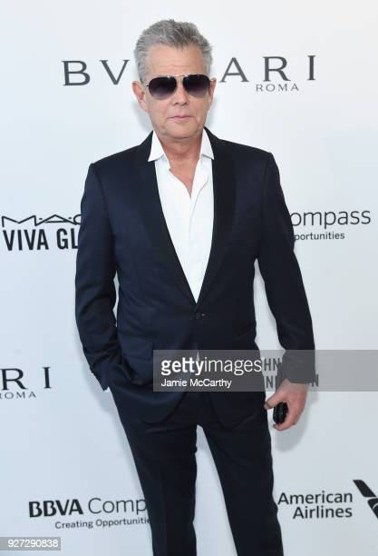 David Foster attends the 26th annual Elton John AIDS Foundation Academy Awards Viewing Party sponsored by Bulgari celebrating EJAF and the 90th...