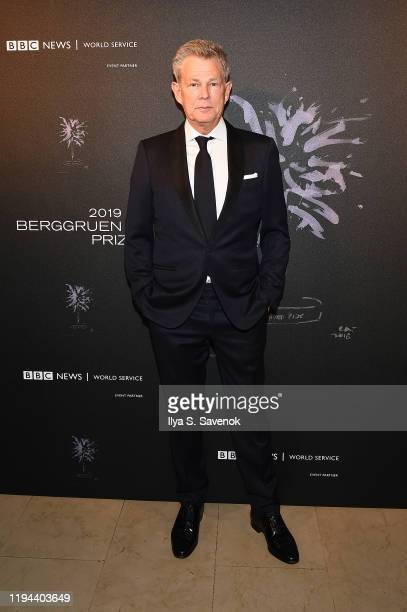 David Foster attends the Fourth Annual Berggruen Prize Gala celebrating 2019 Laureate Supreme Court Justice Ruth Bader Ginsburg in New York City on...