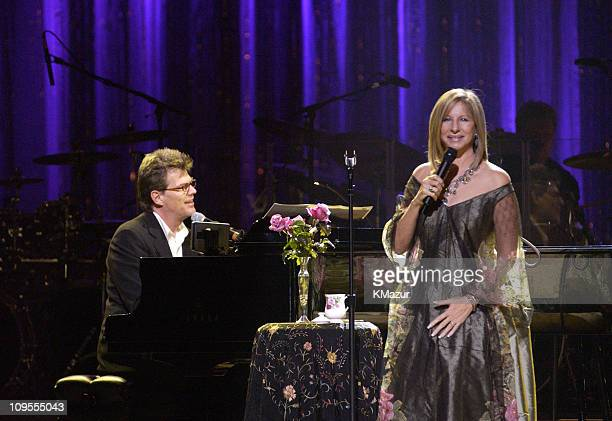 David Foster Barbra Streisand during Barbra Streisand Performs at National Democratic Gala a Benefit to Help Win a Democratic Majority in the US...