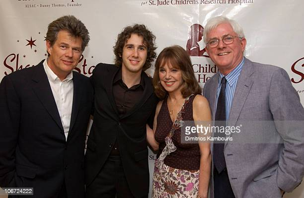 David Foster Josh Groban Marlo Thomas and Phil Donahue