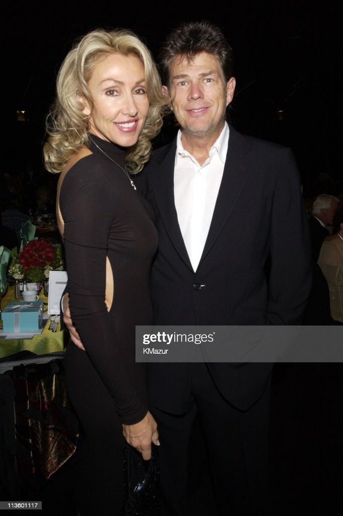 David Foster & Linda Thompson during The Andre Agassi Charitable Foundation's 7th 'Grand Slam for Children' Fundraiser - Backstage and Audience at The MGM Grand Hotel and Casino in Las Vegas, Nevada, United States.