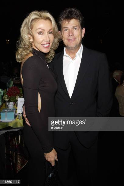 David Foster Linda Thompson during The Andre Agassi Charitable Foundation's 7th Grand Slam for Children Fundraiser Backstage and Audience at The MGM...