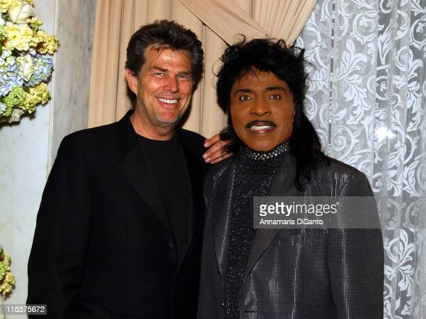David Foster Little Richard during 2002 BMI Pop Awards at Regent Beverly Wilshire in Beverly Hills California United States