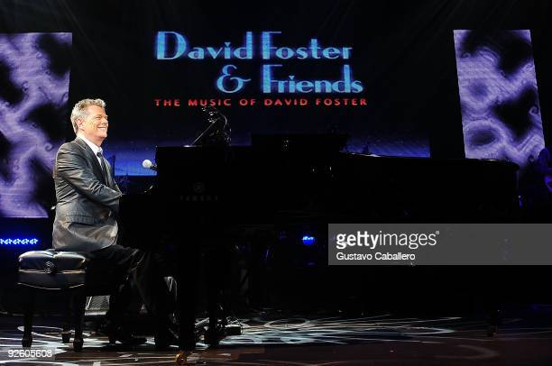 David Foster performs at Hard Rock Live in the Seminole Hard Rock Hotel Casino on November 1 2009 in Hollywood Florida