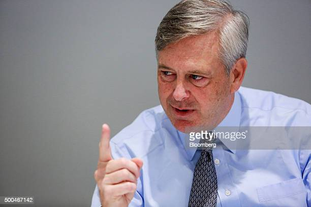 David Fox president of the Northern Trust Family Office speaks during an interview in New York US on Tuesday Dec 8 2015 Fox served as head of...
