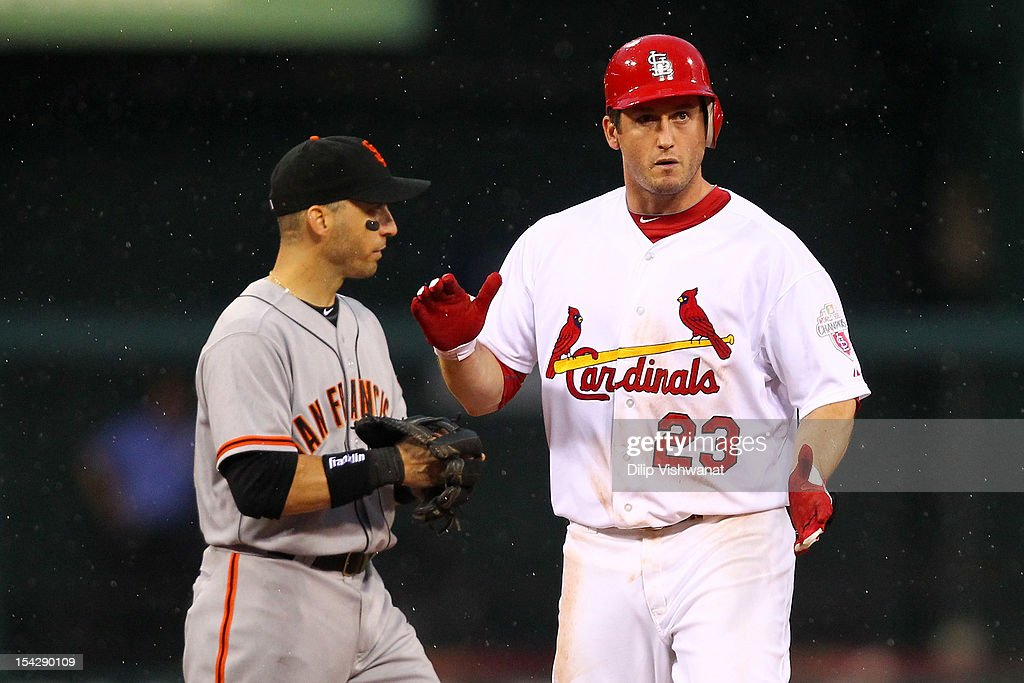 NLCS - San Francisco Giants v St Louis Cardinals - Game Three