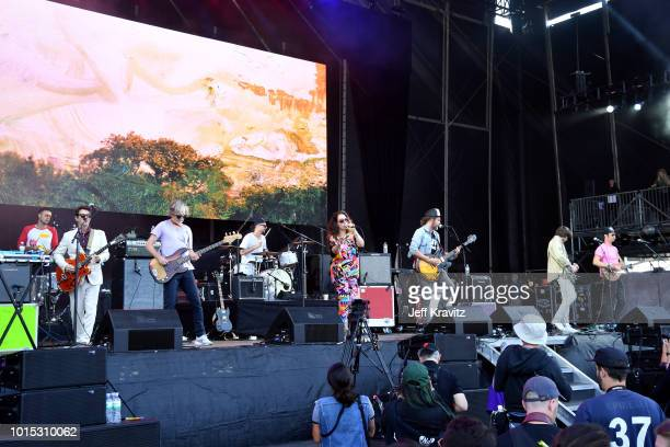 David French, Andrew Whiteman, Brendan Canning, Justin Peroff, Ariel Engle and Kevin Drew, Sam Goldberg and Charles Spearin of Broken Social Scene...