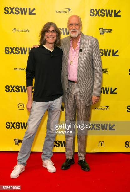 David Fricke senior editor at Rolling Stone magazine and musician Mick Fleetwood attend 'Conversation With Mick Fleetwood' during 2017 SXSW...