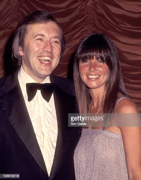 David Frost and Caroline Cushing during Eighth Annual NAACP Image Awards at Century Plaza Hotel in Century City California United States