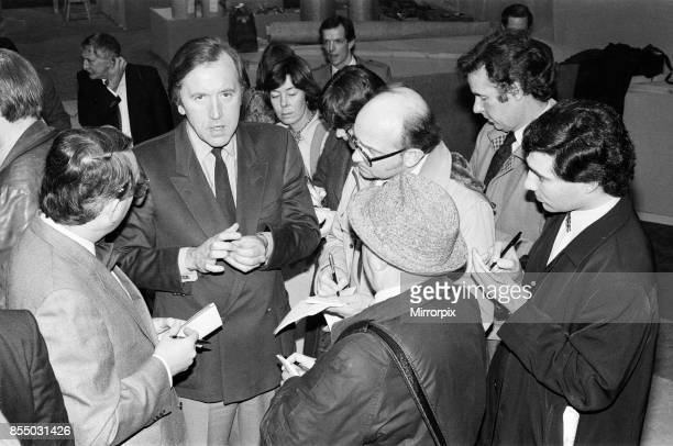 David Frost at the TVam studios 21st February 1983