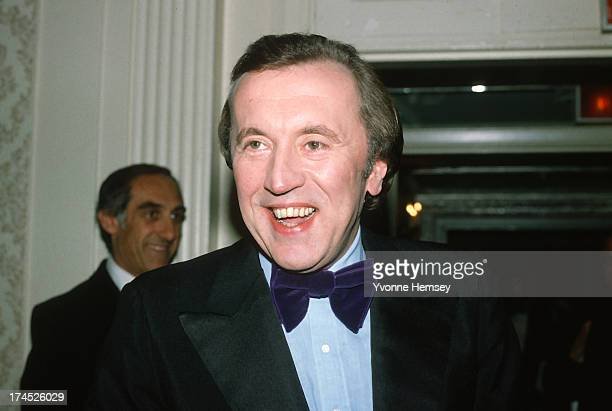 David Frost is photographed March 8, 1982 at 'Night of 100 Stars' event in New York City.