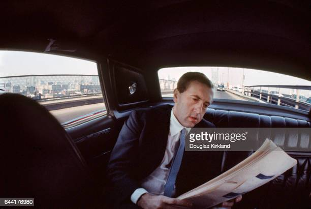 David Frost photographed in NYC 1969