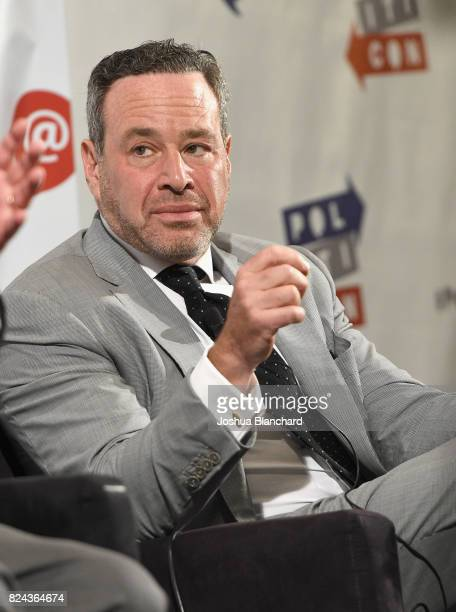 David Frum at 'Art of the Campaign Strategy' panel during Politicon at Pasadena Convention Center on July 29 2017 in Pasadena California