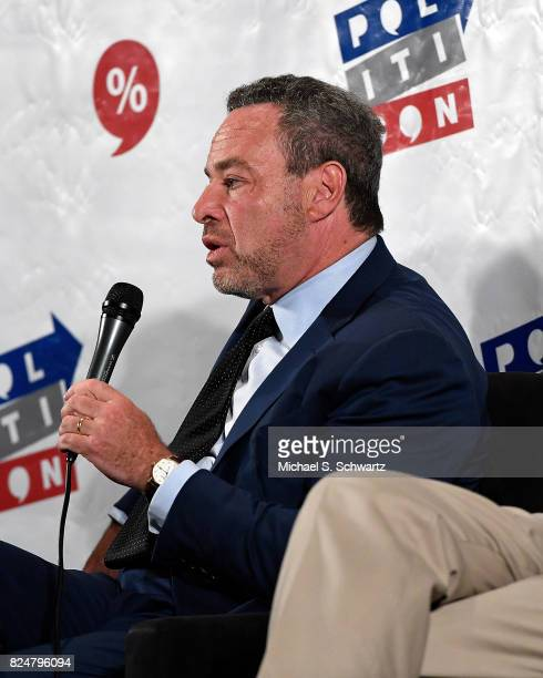 David Frum speaks at the 'Now What Republicans' panel during Politicon at Pasadena Convention Center on July 30 2017 in Pasadena California